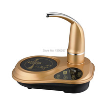 high quality morion panel LCD touch-control tea pot induction cooker noise-free automatic water irrigation free shipping(China (Mainland))