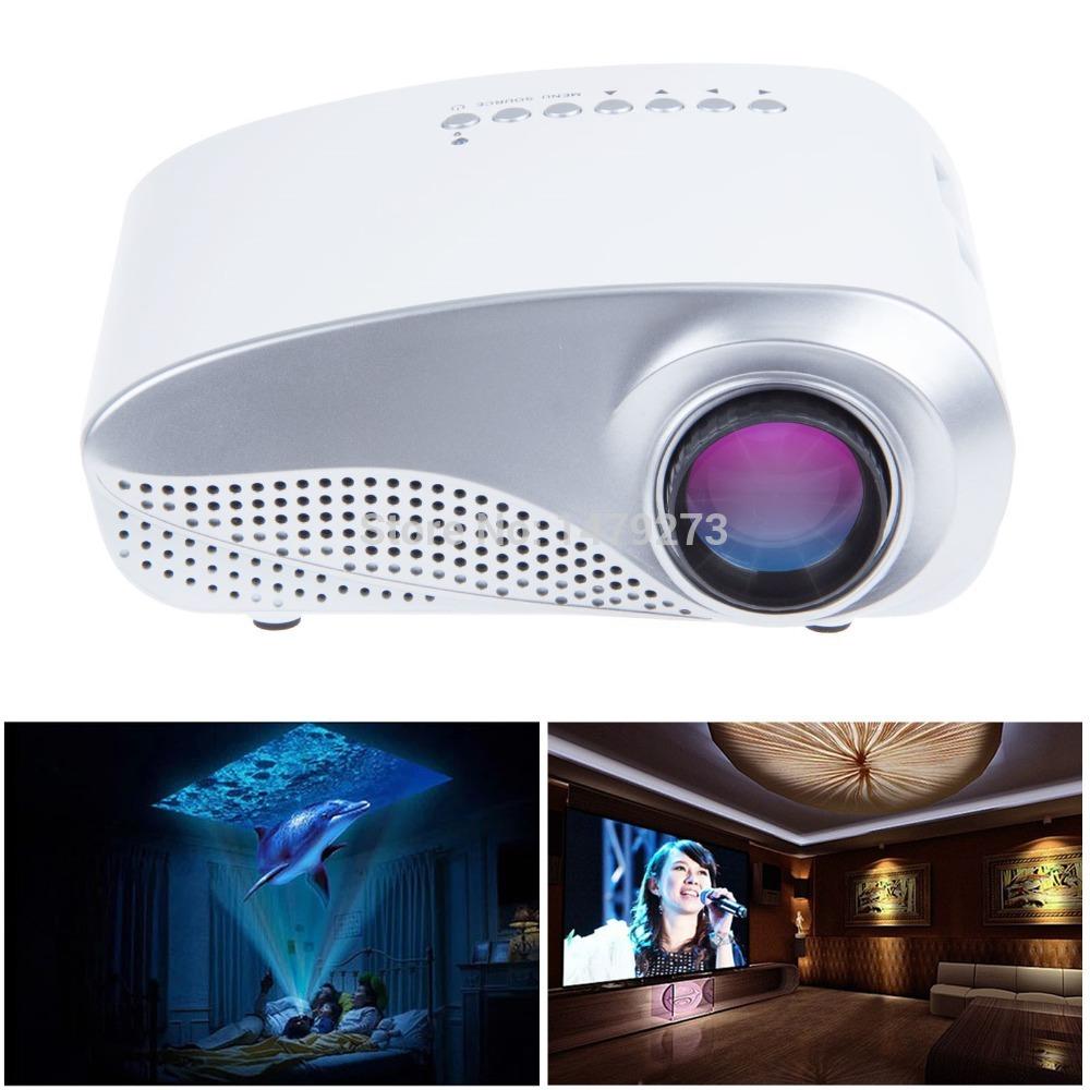 NEW 802 200lumens Portable USB AV HDMI TV HD LED LCD 1080P Video Pico Mini 3D Projector Fast Ship In 24 Hours<br><br>Aliexpress