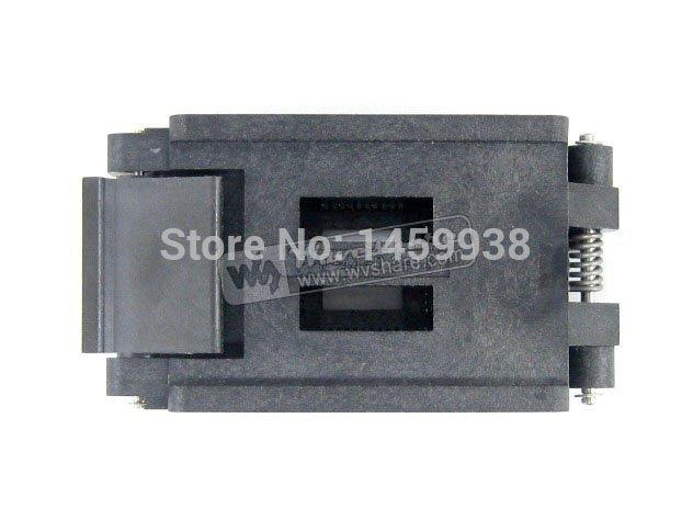 QFP44 TQFP44 LQFP44 PQFP44 FPQ-44-0.8-16A Enplas QFP IC Test Burn-In Socket Adapter(China (Mainland))