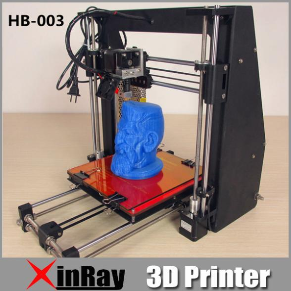 Free Shipping 2015 Newest 3D Printer DIY Kit easy assemble Stable Triangle Metal 3D Printer High