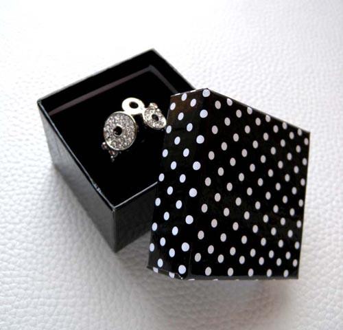 10 5*5*3.8cm Jewelry Packaging Ring Paper Box - Ningbo Huahui Co.,ltd store