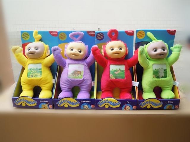 2012  Christmas toys, Baby's  Teletubbies toys  4 colours