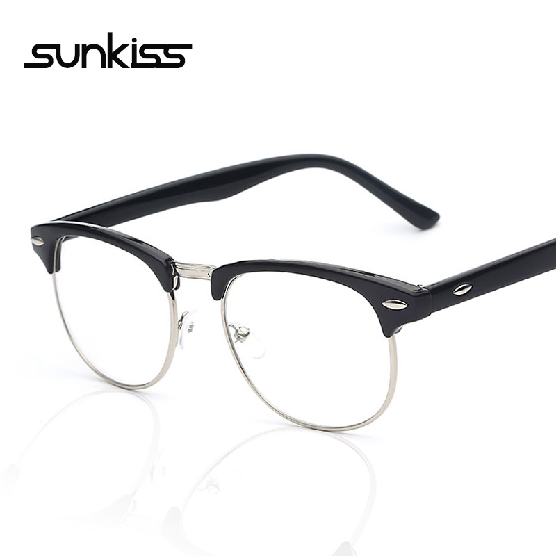 Rimless Geek Glasses : Buy Reading glasses frames female student office lady ...