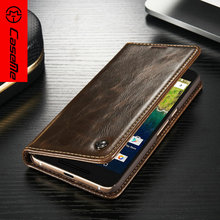 Vintage Leather Magnetic Flip Wallet/Stand/Phone Cover for Google Huawei Nexus 6p