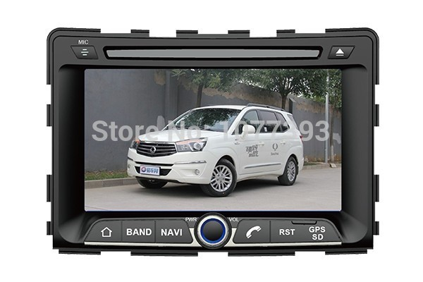 1080P Car radio DVD GPS Player for Ssangyong Ssang Yong Rexton Car Navigation Audio System Radio Player(China (Mainland))