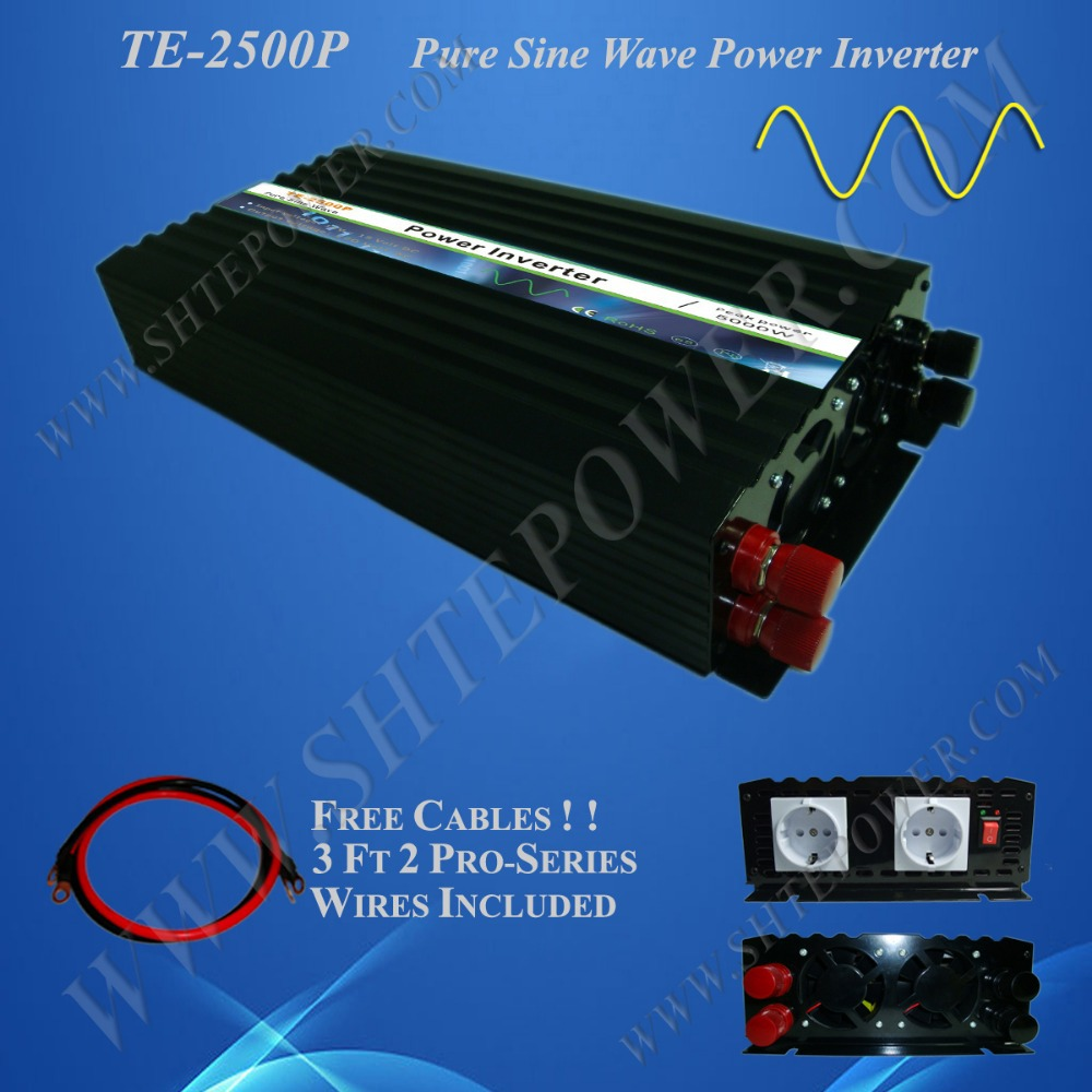 2500w Pure Sine Wave Power Inverter 24v to 220v,CE ,ROHSApproval(China (Mainland))