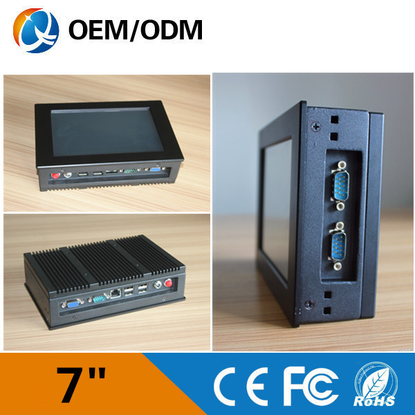 """QYT industrial embedded tablet pc 7"""" touch screen mini pc with 3*com 4*usb Atom N2600 (QY-7C-NIBBW)(China (Mainland))"""