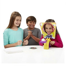 Pie Face Family Funny  Environmental Party Game Pie Face Cream Pie Machine TrickyToys For Kids Gift Without Original Box(China (Mainland))