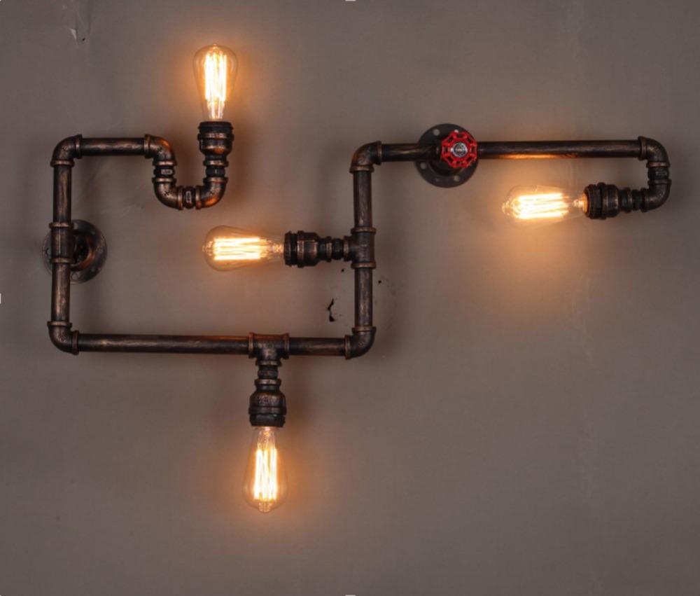 Online Kaufen Gro 223 Handel Wasser Rohr Lampe Aus China
