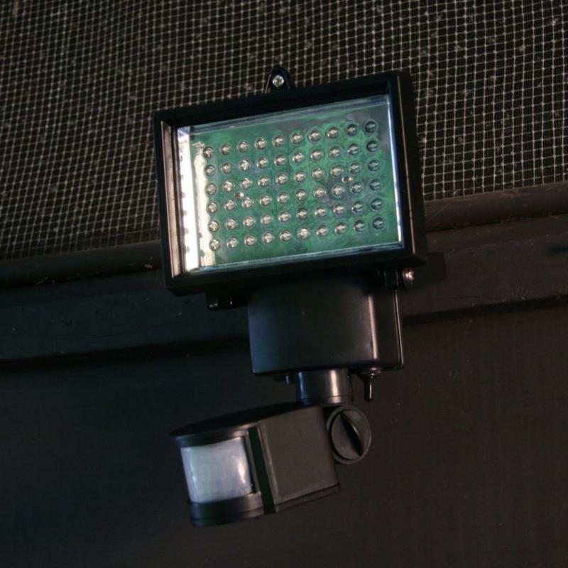 decorative motion sensor lights amazing homezone led. Black Bedroom Furniture Sets. Home Design Ideas