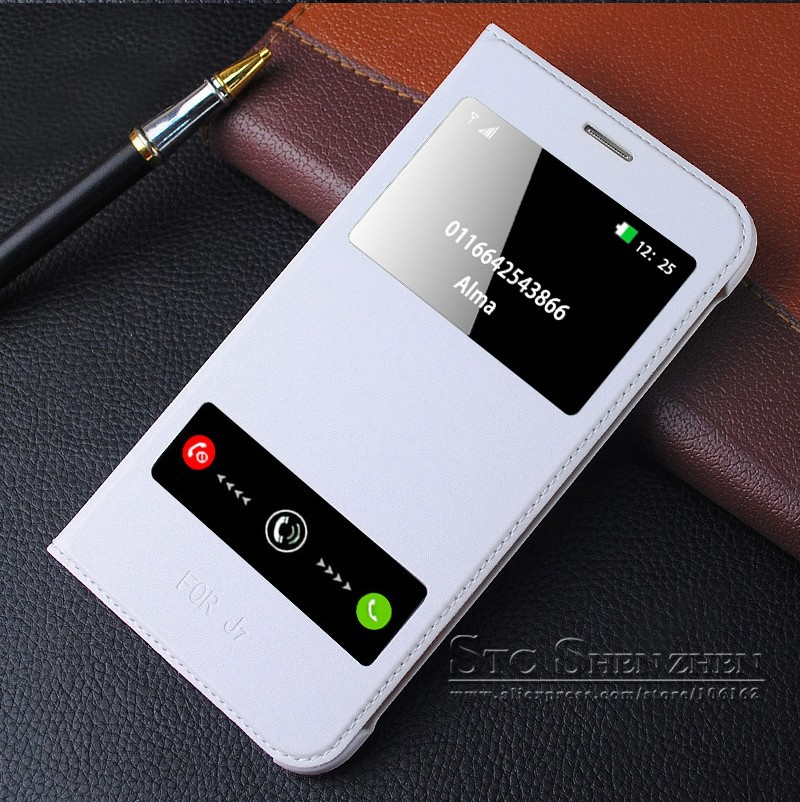 Luxury Leather Flip Case For Samsung Galaxy J7 J700h Smart  Cover phone coque (19)