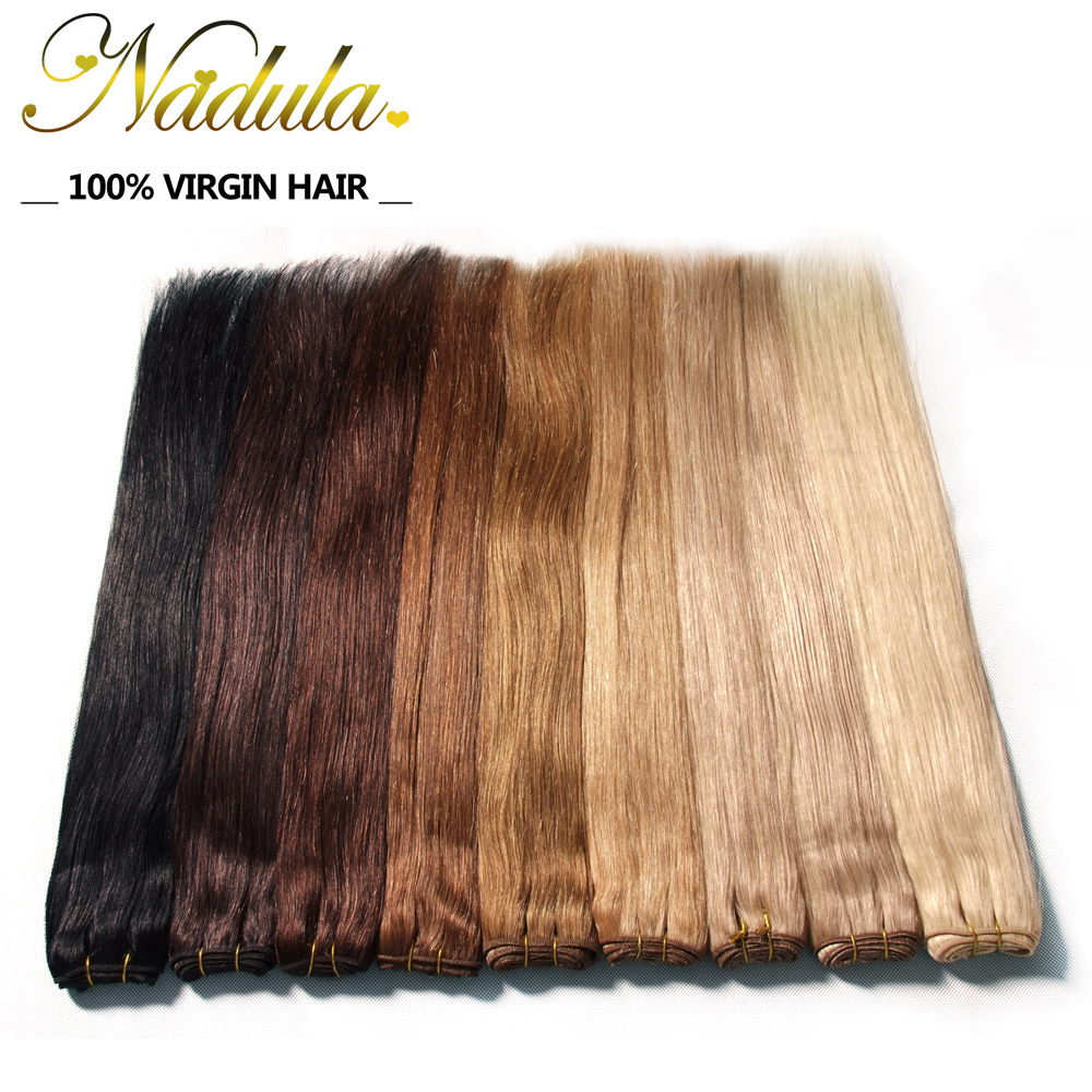 Brazilian Straight Hair Weave Color #1#1B #2 #4 #6 #12 #18 #27 #613 Blonde 7a Brazilian Virgin Hair Straight Blonde Hair Bundles(China (Mainland))