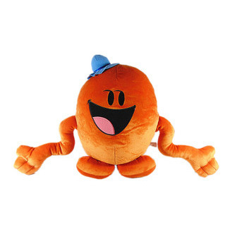 Fisher orange figure Mr tickle Baby Soft Plush Toys Brinquedos 40CM Cheapest Price Best Gift for Kids(China (Mainland))