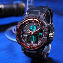 80 G Hot Sale 30m Waterproof Dive Dibing Sports Watches Men Luxury Brand Watch Style Shock Resistant Silicone Digital Wristwatch