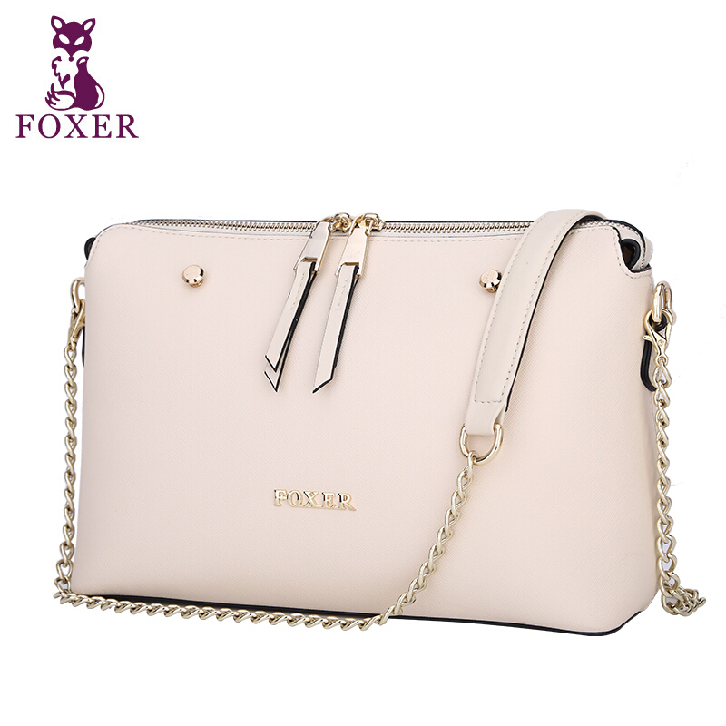 Фотография 2015 new fashion famous brand women bag top quality genuine leather handbag solid zipper women messenger bags