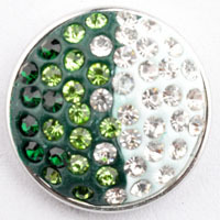 D01735 50pcs/lot 2015 High quality wholesale styles 18mm Metal Snap Button Charm Rhinestone Styles diy Button Snaps Jewelry<br><br>Aliexpress