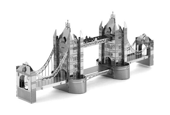 Modern Miniature Nano Metal DIY Puzzle 3D Model Building Kits Educational Toys,Free Shipping(China (Mainland))