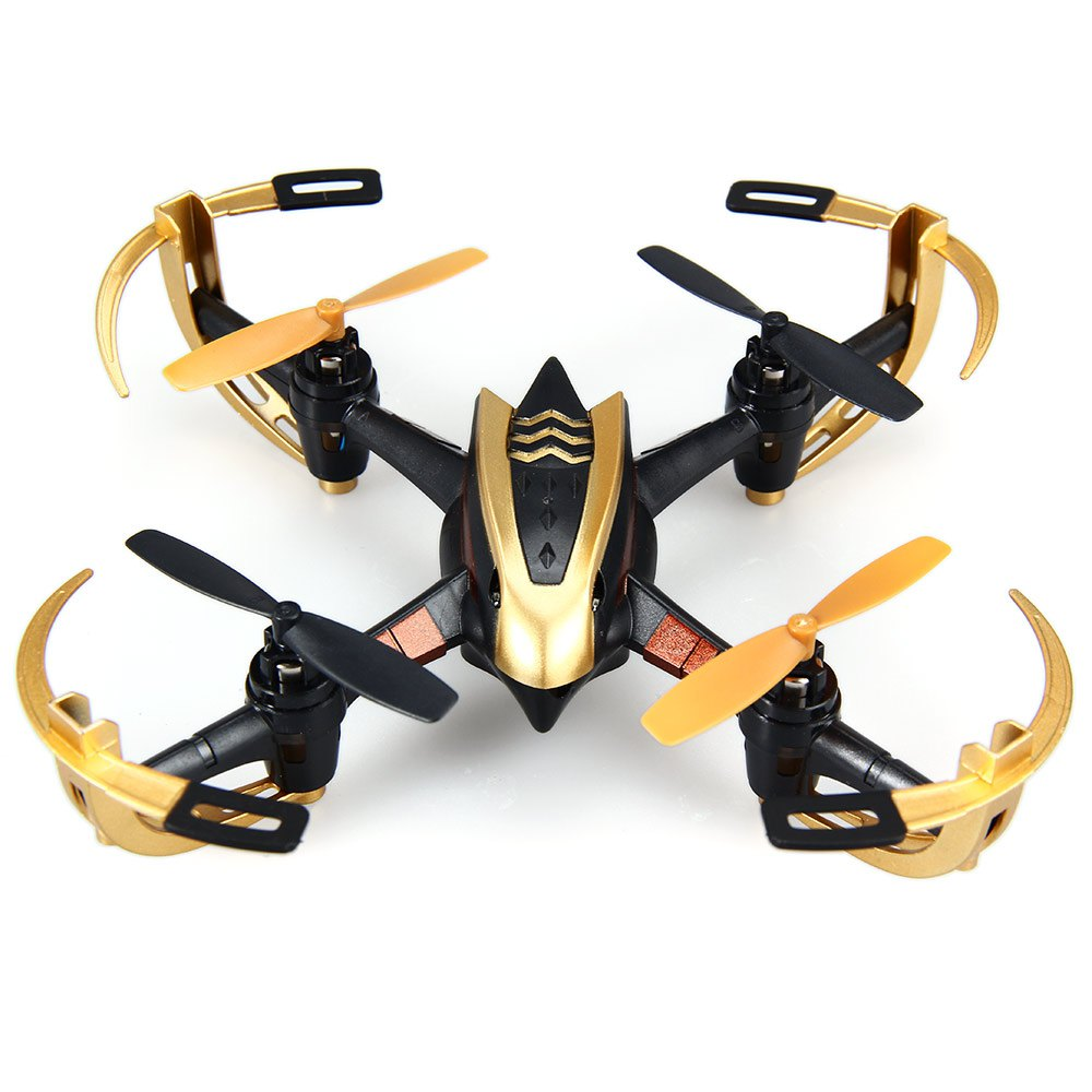 Yizhan Golden X4 4CH 6 Axis RC Drone Quadcopter UFO 3D Flying Remote Control Helicopter with 2.4G Transmitter LCD Display(China (Mainland))