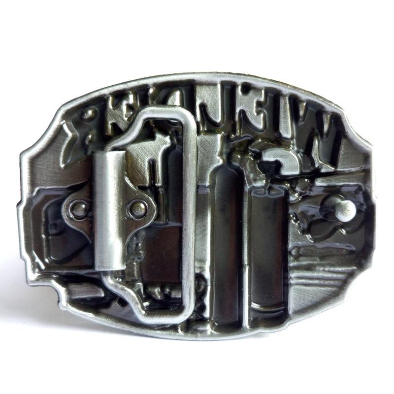 Pewter Belt Buckle Tradesman Electrician NEW