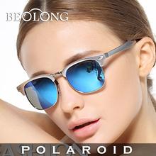 Beolong women's UV400 Polarized Sunglasses Driving Aluminum Magnesium Alloy Sun Glasses for women with Case Box 8 Color BL421