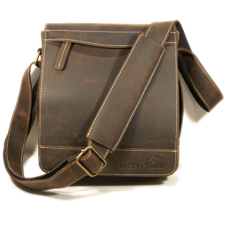 Crazy Horse Leather Satchel Bags men messenger bags briefcase men's travel bag leather shoulder bag High quality 100% cowhide