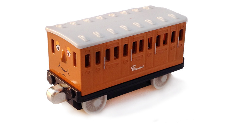 Cool Toy Train Cars : Original thomas carat bell train magnetic locomotive