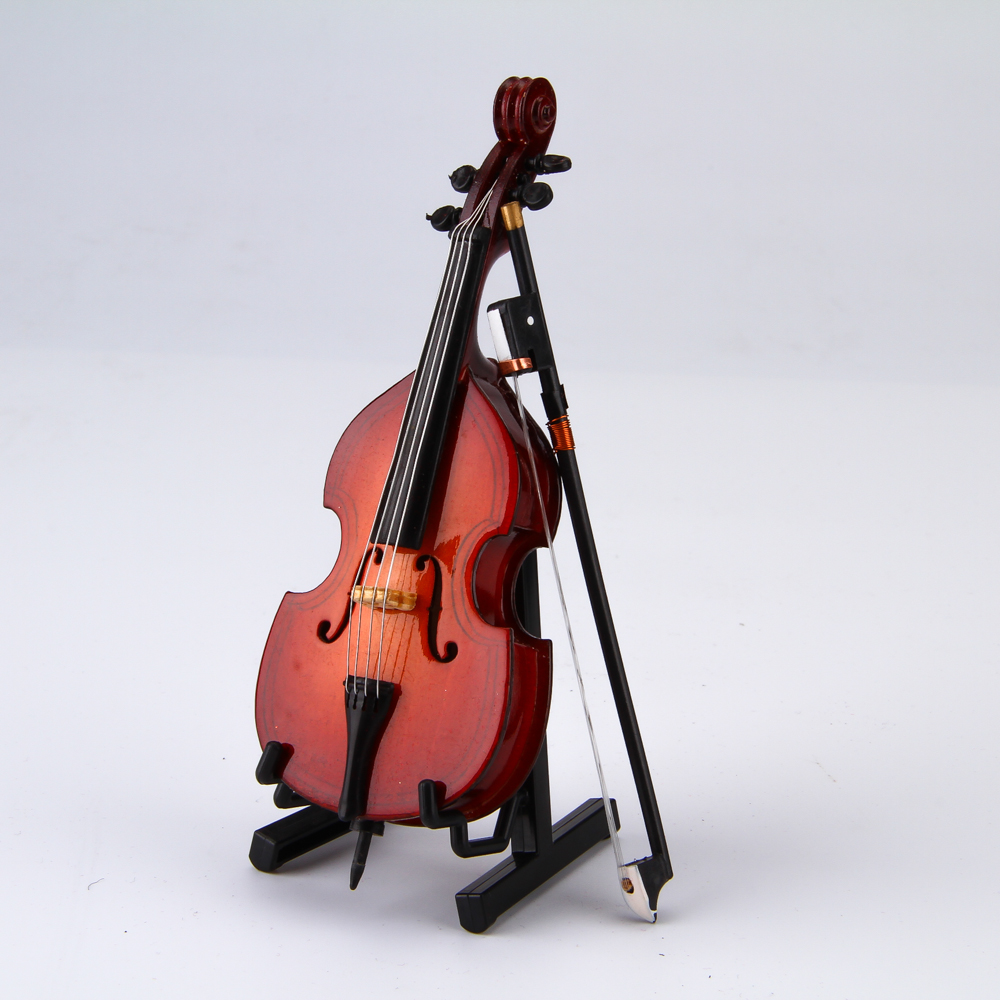Mini Musical Instrument big bass Toy Shaped Stylish16cm big bass Musical Instrument decoration holiday gift collection<br><br>Aliexpress
