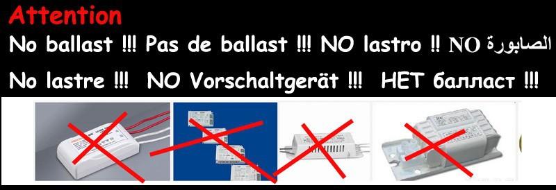 g24 no ballast