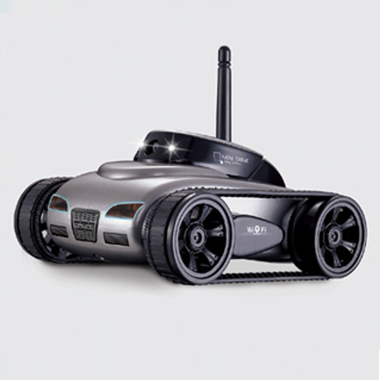 Hot New Toys!! Rover App-Controlled Wireless 4Ch i-Spy Tank With Camera for iPhone, iPod Touch and iPad/RC Toy Car FSWOB