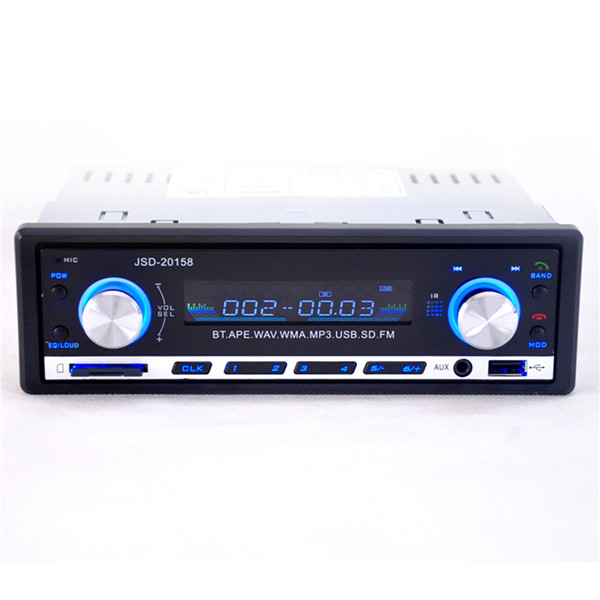 2015 Brand New 12V BLUETOOTH 1 Din Stereo Radio MP3 USB SD AUX Audio Player Car