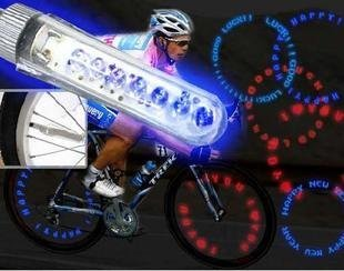 Cycling's top 09 Hot NEW FASHION Bicycle LED spoke tire wheels Flash colorful Light 10pair/lot