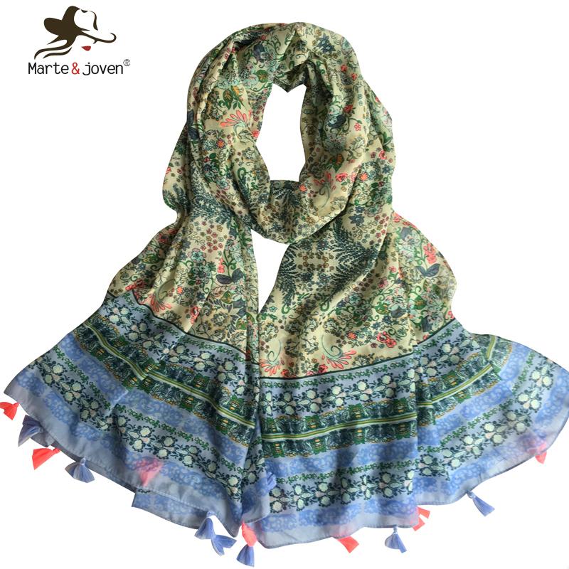 Fashion Japanese Ethnic Style Scarves and Wraps for Women Retro Floral Print Shawls Oversized Casual Foulard and Bandanas(China (Mainland))