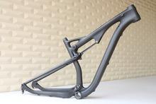 29er carbon inner cable disc brake full suspension frame FM036, OEM products , 29er suspension carbon frame(China (Mainland))