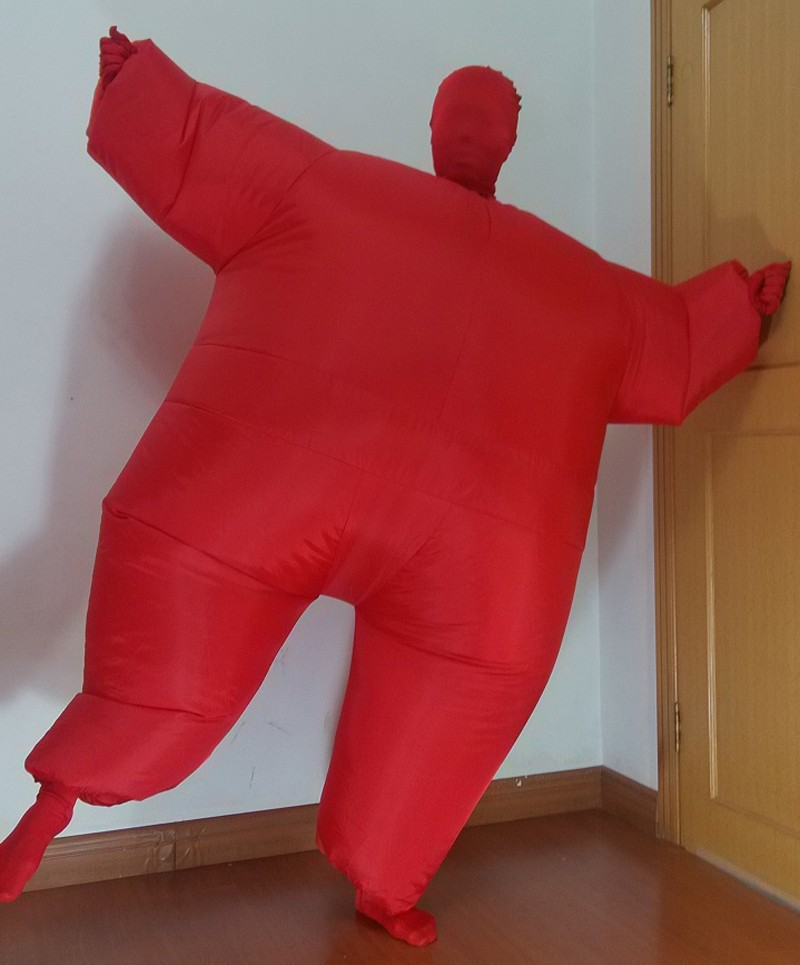 Halloween inflatable full body jumpsuit 6