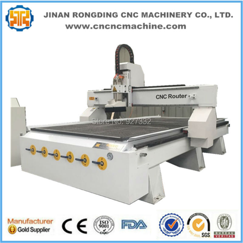 Heavy body vacuum table and dust collector cnc wood cutter/axyz cnc router/cnc for wood(China (Mainland))