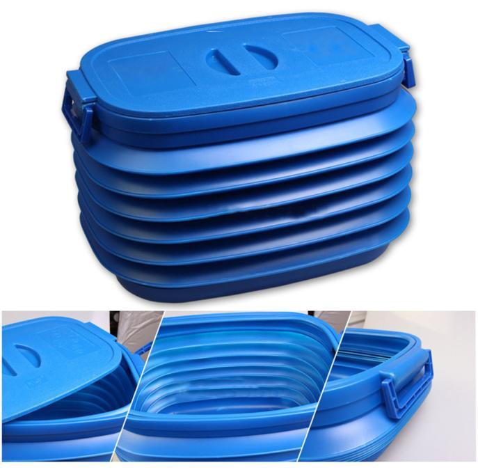 Купить Tiptop Новый Багажник Автомобиля Складной Мусор Контейнер Портативный Пластиковые Бочки С Водой Организатор Box OCT28