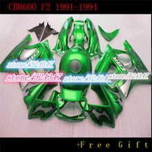 Buy Motorcycle parts for CBR 600 F2 fairing kit 1991 1992 1993 1994 fairings green black CBR600 91 92 93 94 for Honda for $275.40 in AliExpress store