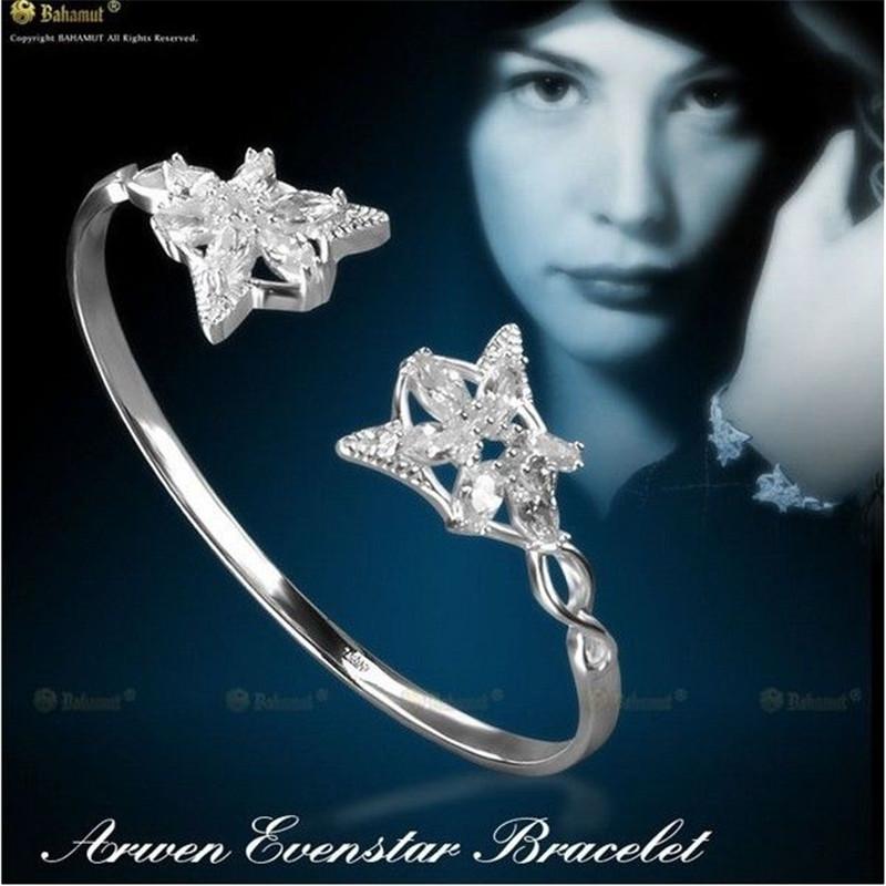 Fashion US Movie Lord of the Rings LOTR Arwen Evenstar Bangles Fashion Elf Princess Women LOTR Jewelry High Quality Fan Gift(China (Mainland))