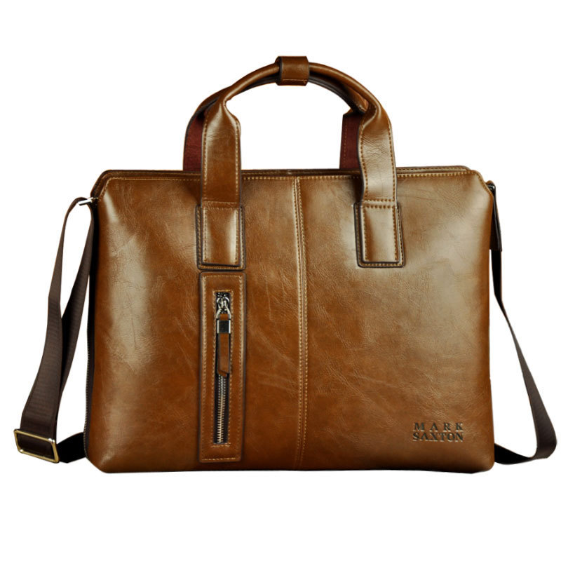 Male Business Briefcase Man Good Quality High End Design Shoulder Bag Handbag Briefcase Laptop Bag(China (Mainland))