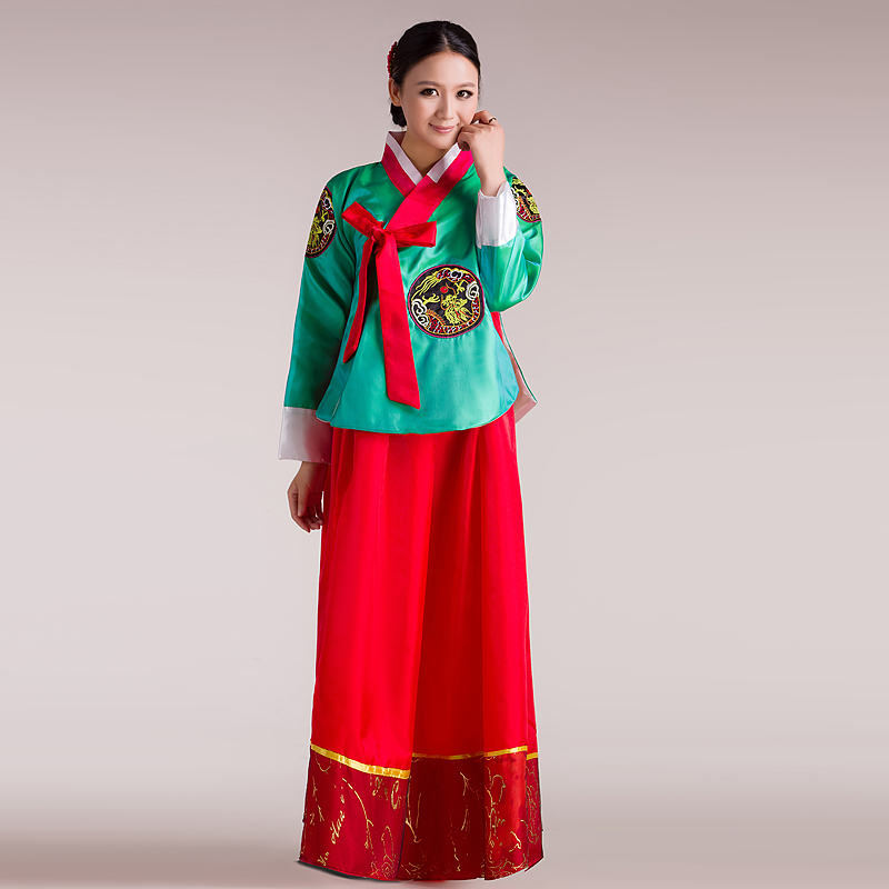 South Korea's national tradition clothes hanfu oriental costumes female ancient costume Hanbok - Janne xiong's store
