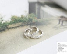ra001 Fashion 2015 Women s Rings White Simple Atmosphere Frosted Rings For Wedding Ring In Jewelry