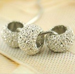 2014   N71 scrub bead necklace personalized pendant  silver (min order $10 mixed items order) jewelry wholesale