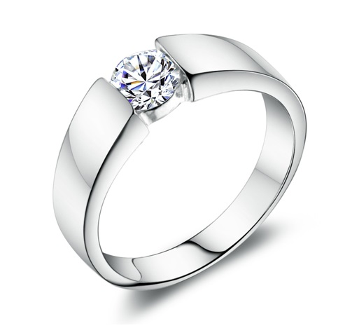 Men39s rings with crystal ring stones platinum mens wedding for Mens wedding rings with stones