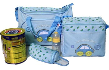 4pcs/set Carters Dipaer Bags for Baby Free Shipping Durable Mother Wet Bag Fashion Mummy Bag