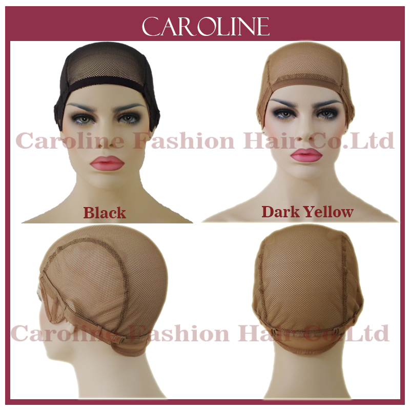 Glueless Lace Wig Cap For Making Wigs With Adjustable Straps Weaving Caps For Women Hair Net & Hairnets Easycap Wholesale 6032(China (Mainland))