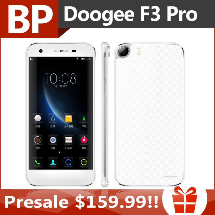 Original Doogee F3 Pro 5 Inch 4G LTE FHD 1920x1080 MTK6753 Octa Core Android 5.1 Mobile Cell Phone 3GB RAM 16GB ROM 13MP(China (Mainland))