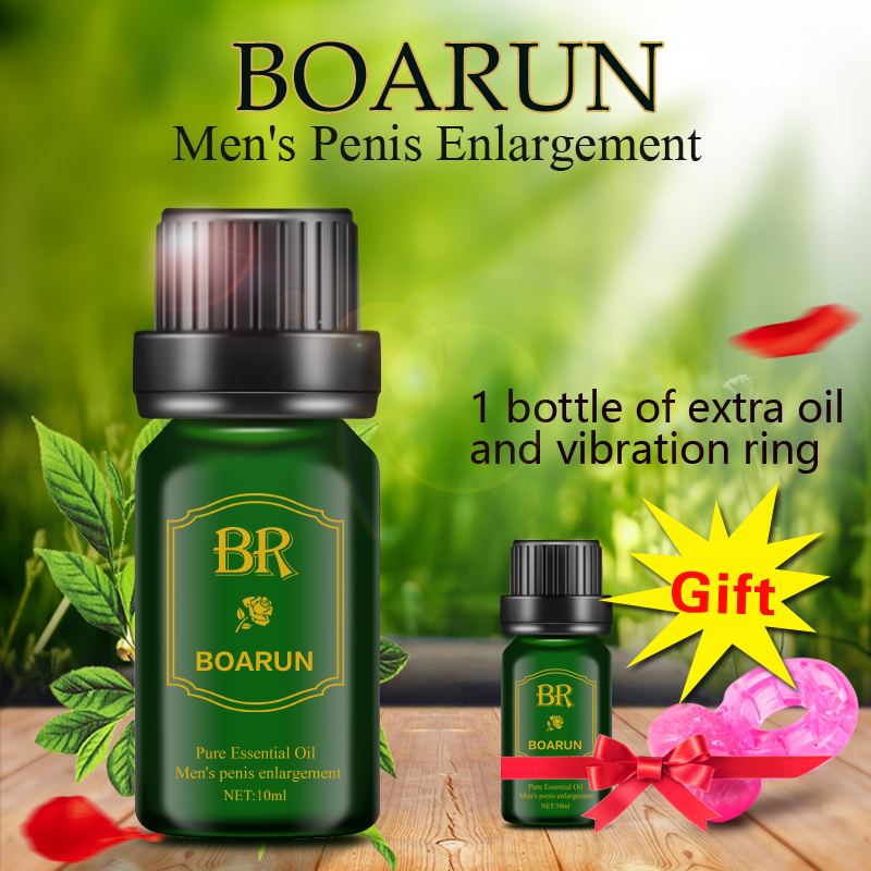 BOARUN Male permanent Penis Extender Enlarger increase herbal Enlargement Essential Oil growth Extension Cream Sex Products Men