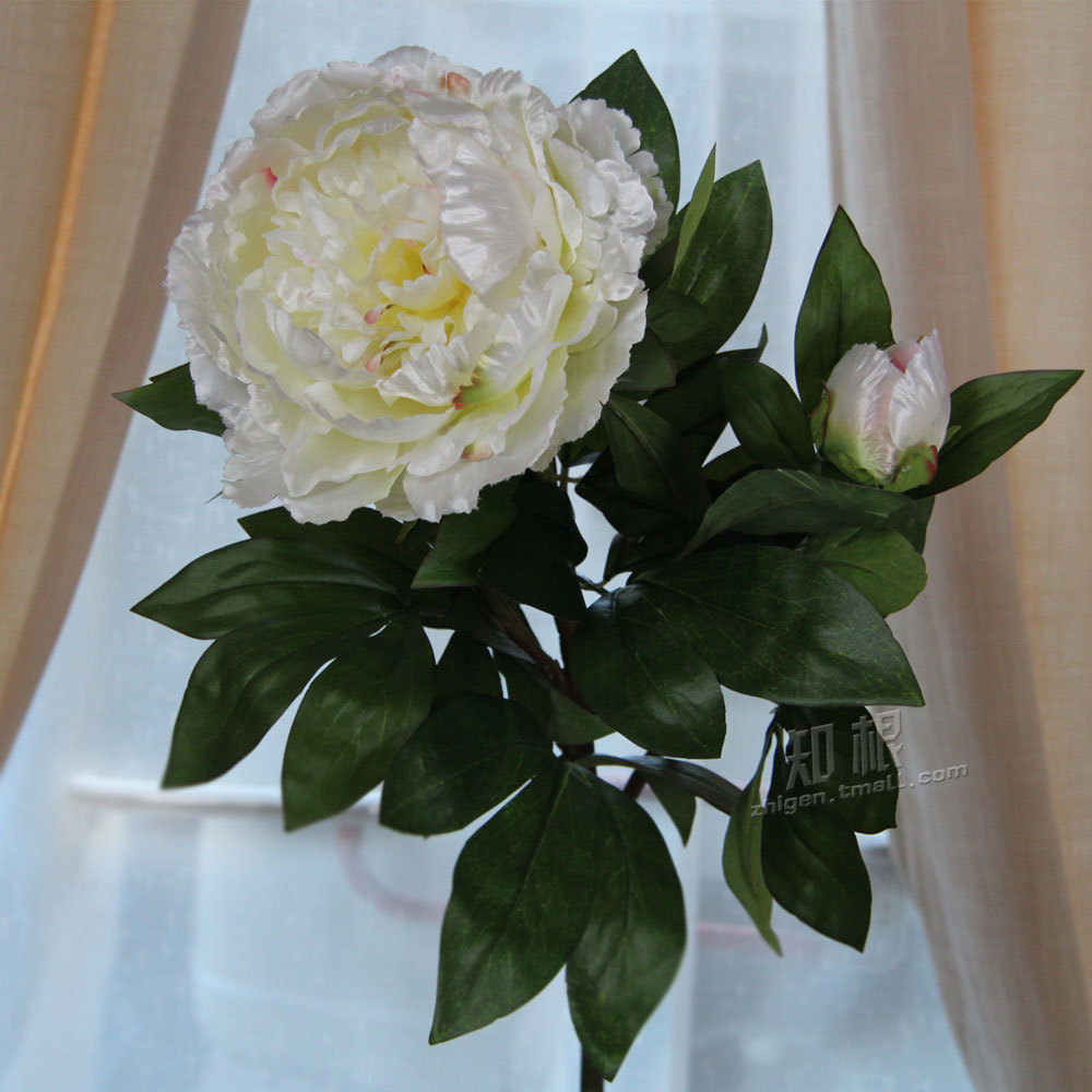 High quality simulation King Peony Artificial Silk Flower Home Party Wedding Garden Decoration(China (Mainland))