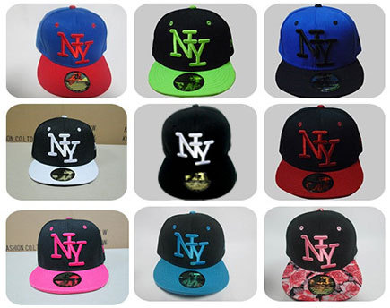 Free shipping 2015 NY Kids Snapback Cartoon Embroidery Children Cotton Baseball Cap Baby Boys Girl Snapback Caps Hip Hop Hats(China (Mainland))