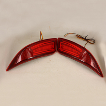 LED Rear Bunper Warning Lights Car Brake Light  Running Lamp For Toyota Camry 2015  (One Pair)(China (Mainland))